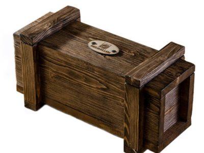 Деревянная бутылочница