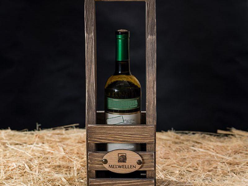 Деревянный футляр для вина