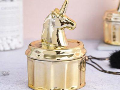Держатель для украшений Unicorn золотой