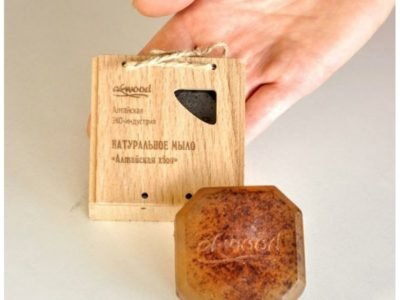Натуральное мыло Алтайская хвоя