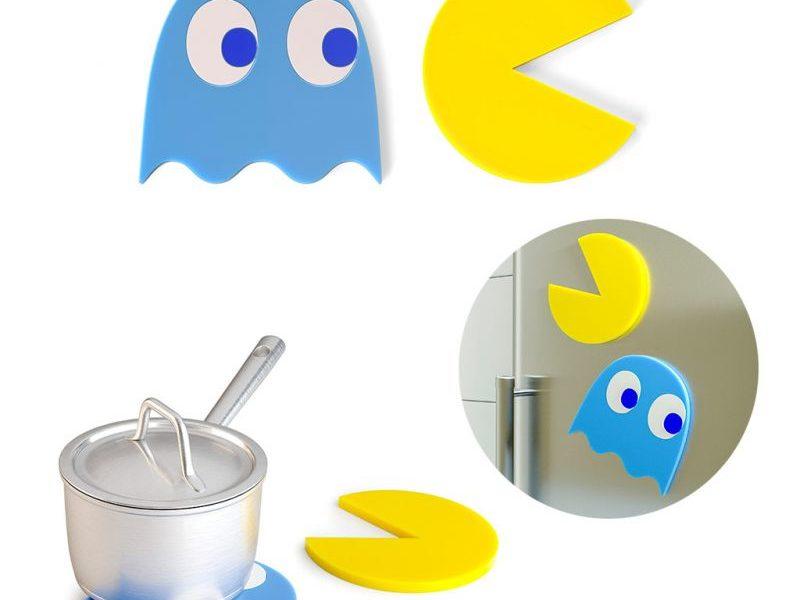 Магнитная подставка под горячее Pac-Man