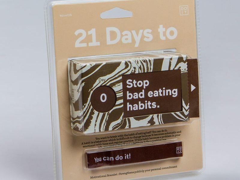 Набор бумажных мотиваторов 21 день