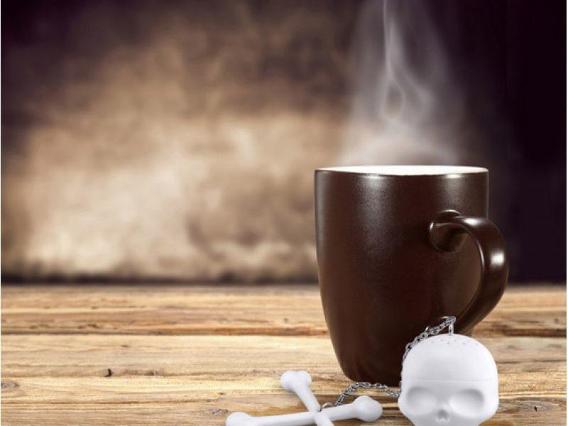Заварник для чая Tea Bones Череп с костями