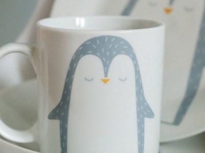 Фарфоровая кружка Пингвинчик