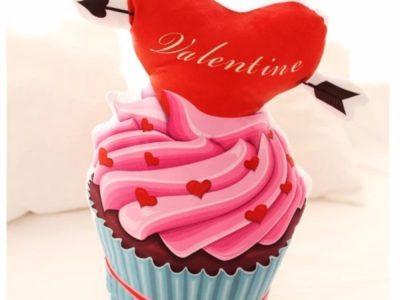 Подушка Сup Cake Valentine