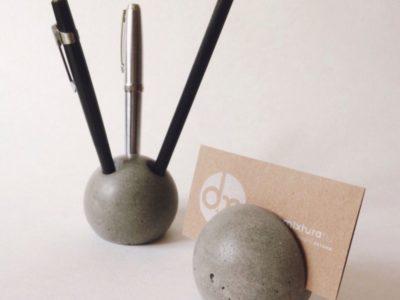 Дизайнерский офисный набор из бетона Mixtura