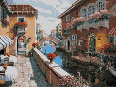 Картина по номерам Прогулка в Венеции