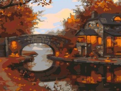 Картина по номерам Золотая осень