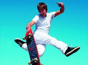 Мастер-класс катания на скейтборде