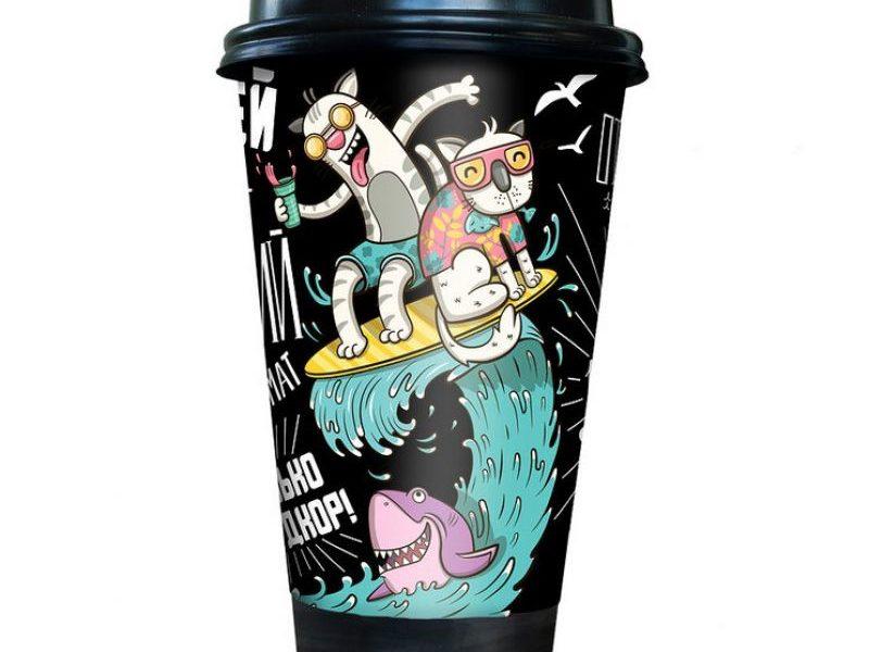 Кофе CoffeeCup Настоящему другу