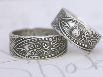Мастер-класс по созданию парных колец с Вашим уникальным дизайном из серебра