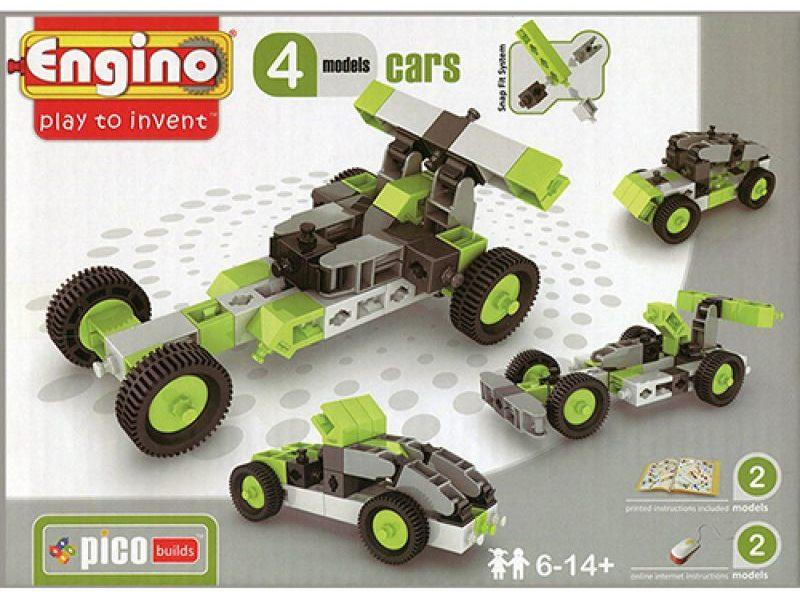 Конструктор Автомобили 4 модели
