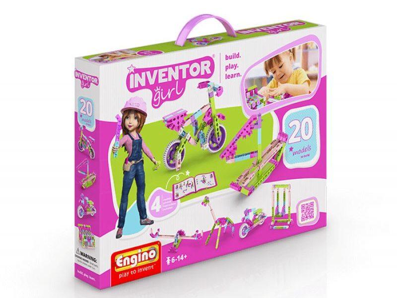 Конструктор Набор из 20 моделей Inventor girls