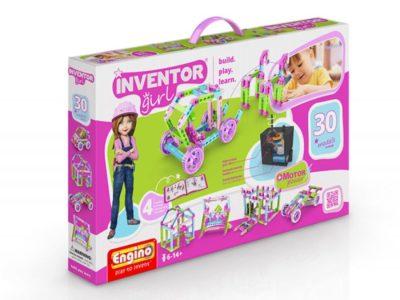 Конструктор Набор из 30 моделей с мотором Inventor girls