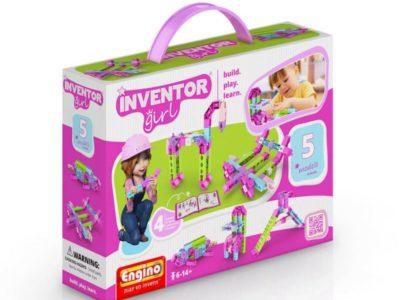 Конструктор Набор из 5 моделей Inventor girls