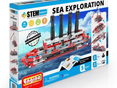 Конструктор Набор из 5 моделей Морские исследования