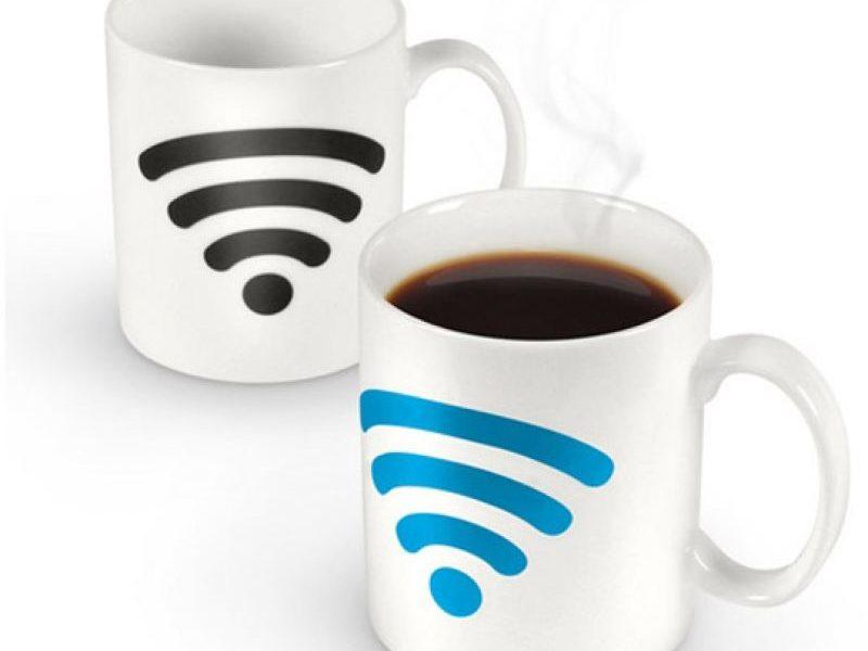 Кружка-хамелеон Wi-Fi