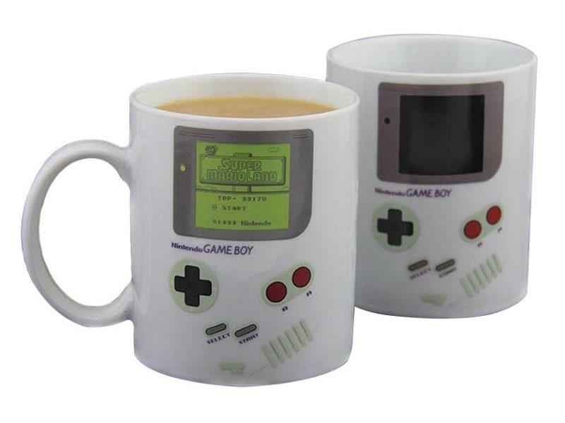 Кружка-хамелеон Game Boy