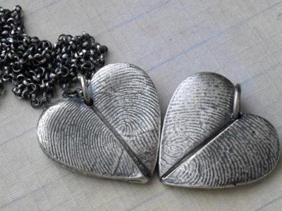 Мастер-класс по созданию парных кулонов из чистого серебра