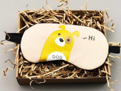 Маска для сна гелевая Hi dog