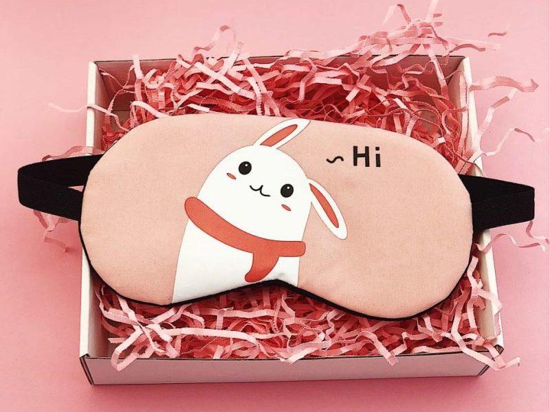 Маска для сна гелевая Hi Hare