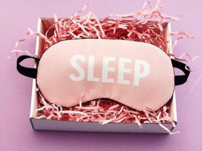 Маска для сна гелевая Sleep