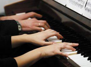 Мастер-класс игры на музыкальном инструменте для двоих