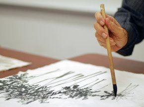 Мастер-класс китайской живописи