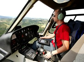 Мастер-класс управления вертолетом Robinson R-44