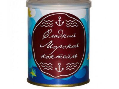 Жевательный мармелад Сладкие Консервы Морской коктейль