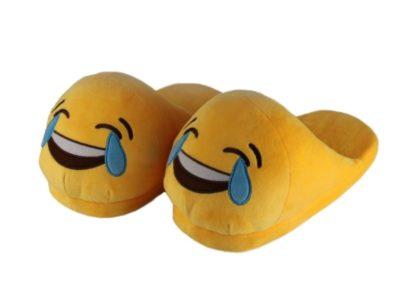 Тапочки без пятки Смайлы Lol 2 слезы
