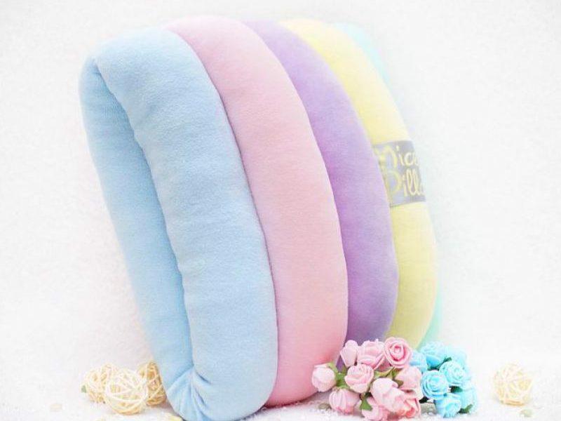 Декоративная подушка Nice Pillow Rainbow