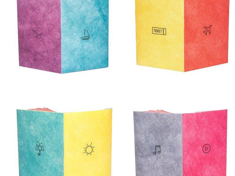 Обложки для паспорта New Cover multicolor (материал Tyvek®)