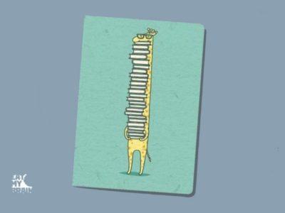 Обложка на паспорт Жираф