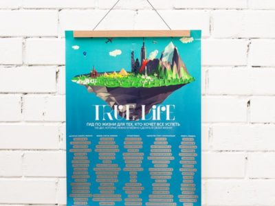 Плакат TrueLife c держателем