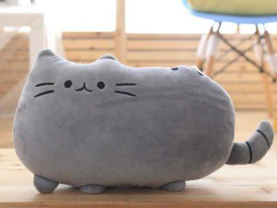Подушка котик Pusheen большая