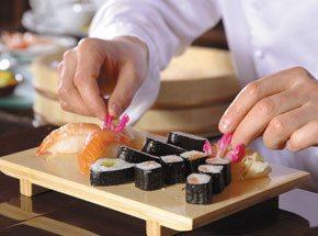 Мастер-класс суши для двоих