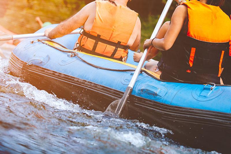 Выходные на реке Укса