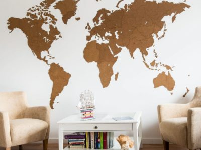 Реалистичный пазл мира Wall Decoration  Giant