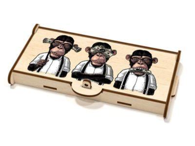 Шкатулка-купюрница Monkey