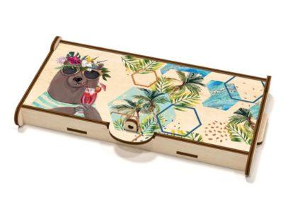 Шкатулка-купюрница Tropic Bear