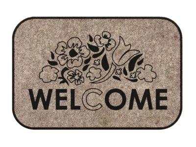 Коврик придверный Welcome v2