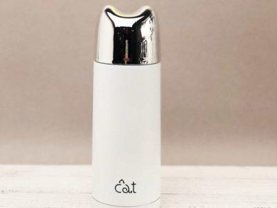 Термос Cat белый