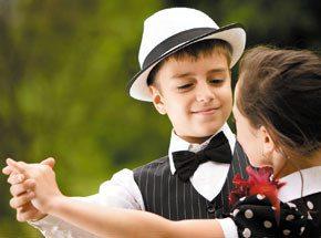 Урок танца для детей