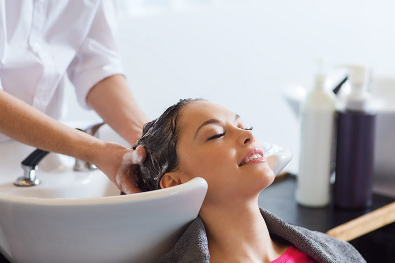 Программа по уходу за волосами с кокосовым маслом для двоих