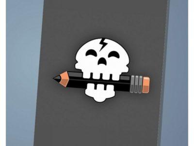 Обложка на паспорт Skull