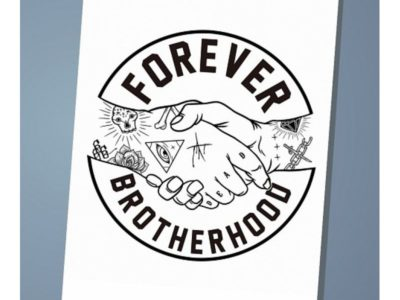 Обложка на паспорт Forever brotherhood
