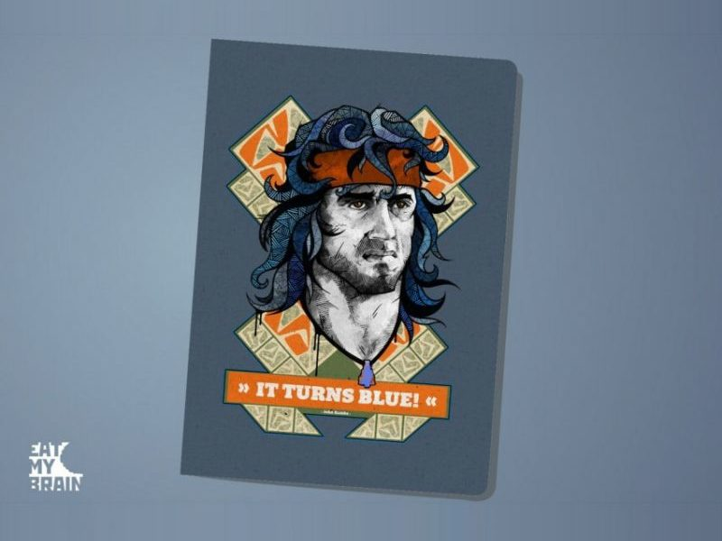 Обложка на паспорт Rambo