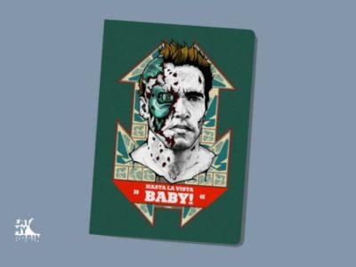 Обложка на паспорт Аста ла виста!